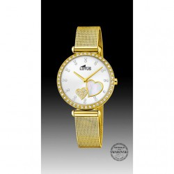 Reloj Lotus de Mujer Dorado...