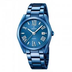 Reloj Festina Mujer Acero Azul